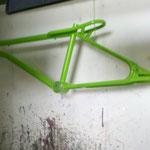 Rénovation du cadre d'un vélo de collection par notre entreprise à Toulouse
