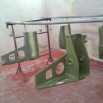 Rénovation de pièces aéronautique d'un avion toulousain