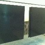 Finition peinture sur 2 pièces carrées par notre atelier à Toulouse