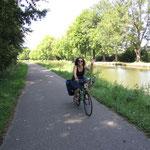 Dem Rhein entlang nach Köln; Juli 2011