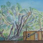 Spring Green, watercolor, 2013