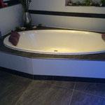 Badböden Zementfliesen