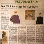 Verkaufspräsentation Afrika in Stein und Bild, Galerie Schanbacher Art International - Coronabedingt frühzeitig geschlossen