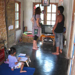 Visit at a house of locals