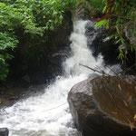 kleiner Wasserfall - small waterfall