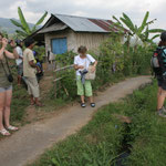 Startpoint of the Trekkingtour