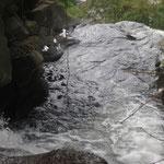 über dem größten Wasserfall von Gitgit - above the biggest waterfall