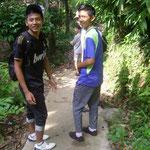 auf der Wanderung - on the trek