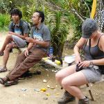 rest at a warung
