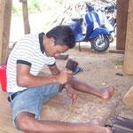 Handicraft-tour: Lumber-Carving