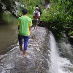 Bachquerung - crossing a river