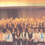 2010, concert pour RETINA, avec le Grand Choeur des Cévennes
