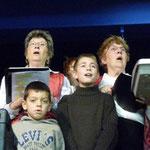 2008, Noël à Gagnières, des enfants nous rejoignent