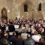 2008, Noël à Mons avec la chorale d'enfants Crock Music