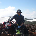 今年七回目の羊蹄山山頂・外輪