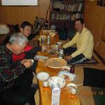 O広山岳会のN谷さんが作ってくださった蕎麦がこれまた美味い