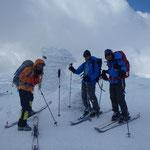 チセヌプリ山頂