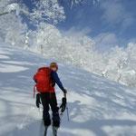 羊蹄山、最初登るに従って天気が良くなってきました