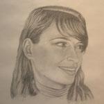"""""""Simona"""" matita su carta - 50x70 - 2008 - Collezione privata"""