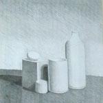 """Immobilità"" Matita - 50x70 - 2007"