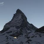 Matterhorn nach Sonnenuntergang