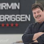 Der sympathische Küchenchef des Hotels Pirmin Zurbriggen in Saas-Almagell