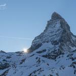 Sonnenuntergang am Matterhorn