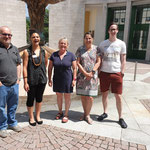 Vorarlberg Vertreten durch Obfrau Jolanda Bechter, Manuela Winkler (Absolventin), Vanessa Vetter, Johannes Bechter (Absolvent) und Johann Frei (Absolvent)