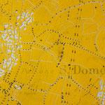 Gravur: Erstellung eines Negativs durch Herausschaffen von Linien auf beschichteter Folie // Engraving work by removing the lamination from a foil (negative drawing)