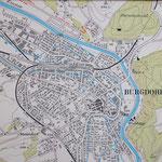Burgdorf, Ortsplan (Lehrlingsarbeit) - etwa 150 Arbeitsstunden