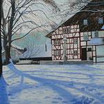ALBISRIEDEN Zürich (2013), 100 cm x 70 cm, Öl auf Leinwand / oil on canvas  *VERKAUFT/SOLD*