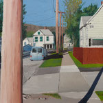 CORNING New York (2011), Öl auf Malplatte / oil on canvas panel, 30 cm x 24 cm