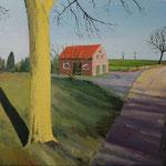 LIMBURG Niederlande (2015), Öl auf Leinwand / oil on canvas, 40 cm x 30 cm