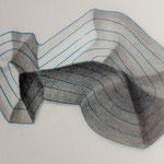 Zeichenübung mit Bleistift für Relief Darstellung (1982) // Relief shading exercise with pencil