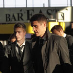 Sebastian Kehl mir Marco Reus - Airport Dortmund