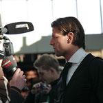 """Roman Weidenfeller """"Interview"""" - Airport Dortmund"""