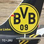 TC - JHU Boeing 737 Turkish Airlines- BVB echte Liebe