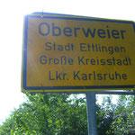 Maischerz. Aus Bruchhausen wurde, über Nacht, Oberweier und umgekehrt.