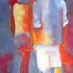 Wir, Öl auf Leinen, 120 x 80 cm