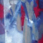 Spiegelbild, Öl auf Leinen, 100 x 70 cm