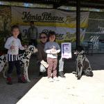 Juniorhändling mit Heidi und Rosalie