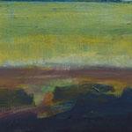 Kleine Moorlandschaft,   20x25,   Öl auf Leinwand,   2015