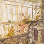 Fenster,     33x26,     Öl auf Leinwand, 2014