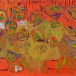 """""""The Gang #3"""", 2020, 50x70, Öl auf Leinwand"""