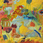 """Paradies"", 2018, 37x56, Öl auf Leinwand"
