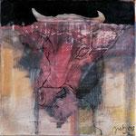 Head_I,     40x40,     Acryl, Ölpastell auf Leinwand, 2001