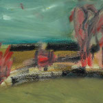 Spätherbst,     27x46,      Öl auf Leinwand, 2007