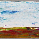 Kleine Landschaft 2,     22x26,     Öl auf Hartfaser, 2016