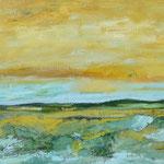 """Landschaft (bewegt)"", 2017, 47x65, Öl auf Leinwand"