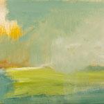 Nebel,     27x46,     Öl auf Leinwand, 2016